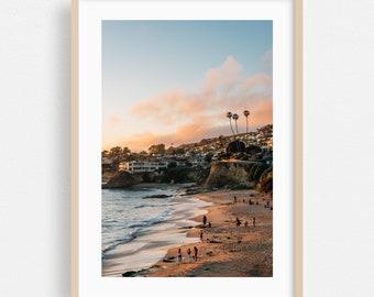 Laguna Beach Prints  Coastal Wall Decor  Ocean Photo Set  California Beach Print