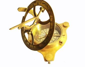 Nautical CompassNavigational CompassVintage Military Working Compass
