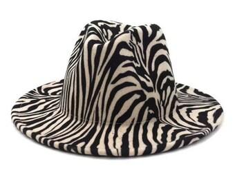Unisex Novelty Fancy Dress Fashion Braces Black White Zebra Animal Striped Print