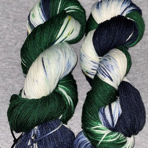 Merino wool yarn Sport weight 175 meters Dvorovoi Hand dyed yarn