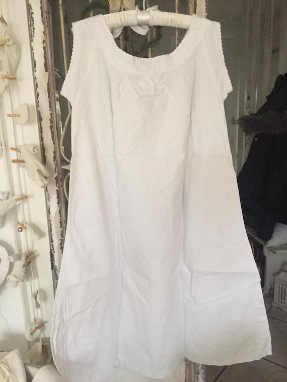Women's nightgown with monogram