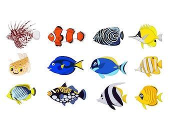 Download Cartoon Fish Svg Etsy