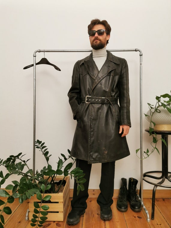 Erdmann Lederbekleidung Munich Leather Trench coat