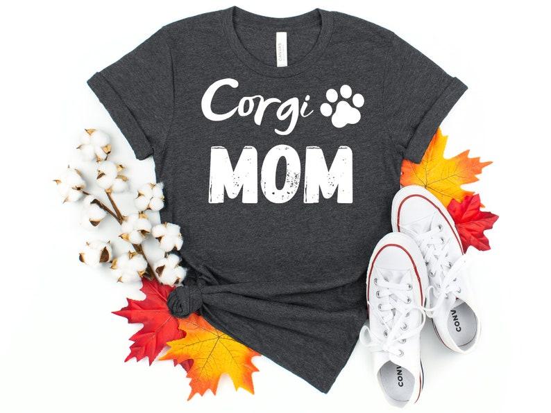 Corgi dog shirt for women Corgi graphic tees Corgi mom shirt Fur mama shirt Dog mom shirt for corgi owner Corgi shirt Corgi lover gift