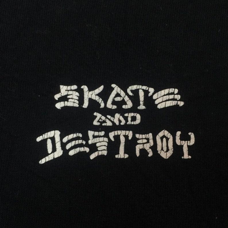 Thrasher magazine skate destroy tee long sleeve saiz L