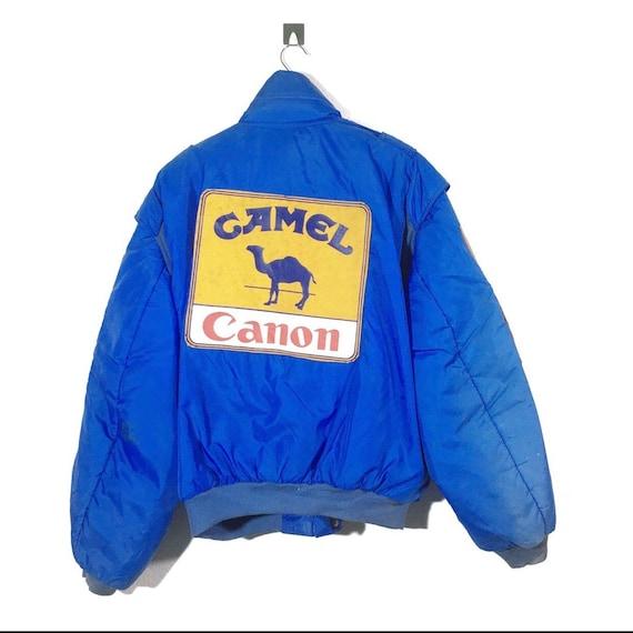 Vintage Camel Racing Rally Jacket Bombers M sz