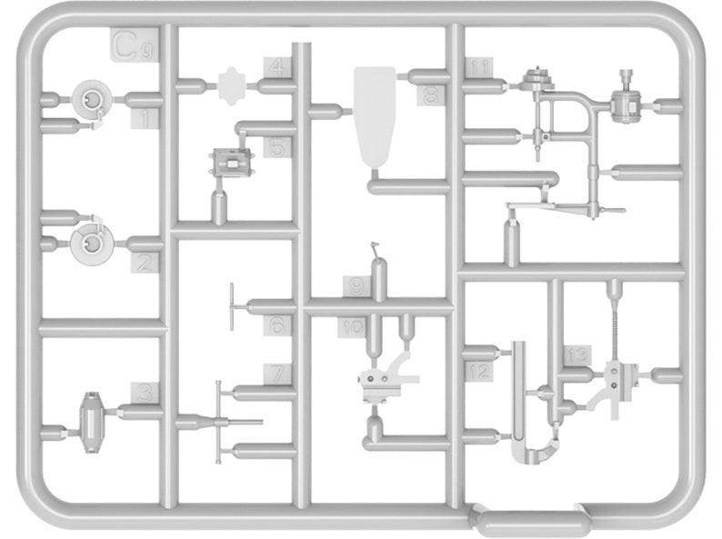 1:35 Plastic model kit Toolmakers in scale