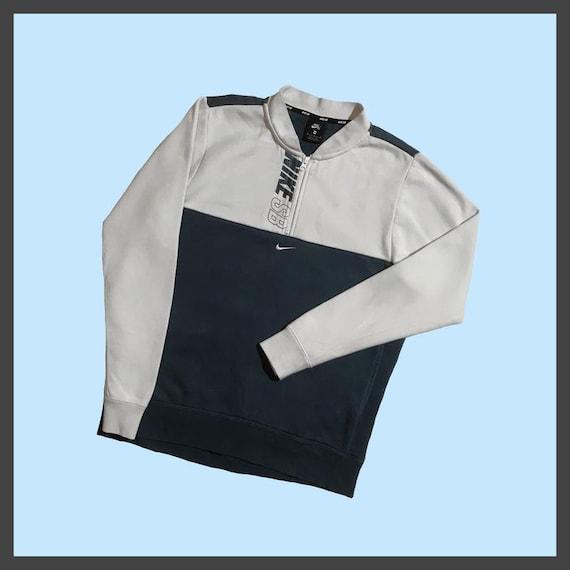 Nike sb vintage zip collared sweatshirt