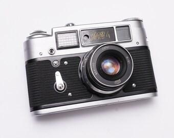 Fed 4 -vintage 35mm film rangefinder  camera