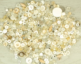 Estate Antique Sale skirt dress blouse clothing Vintage lot Set of 75 matching old glass buttons