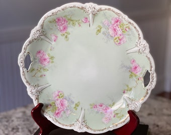Purple and Yellow Cottage Chic Bowl #M301 NORITAKE HAND PAINTED Bowl Cherry Blossom Porcelain Bowl