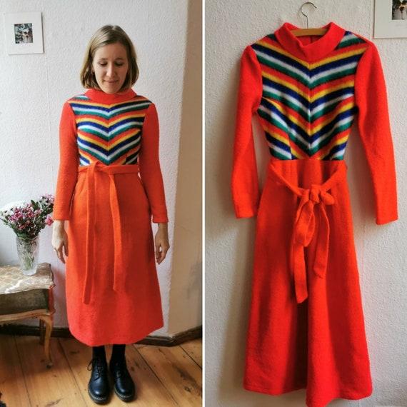 Vintage 70's winter dress