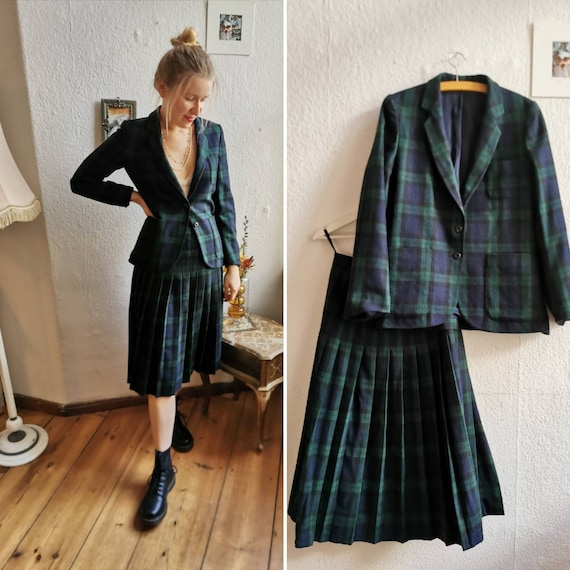 70's Betty Barclay vintage Set, Blazer and skirt