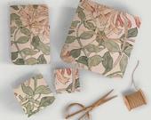 William Morris Honeysuckle wrapping paper