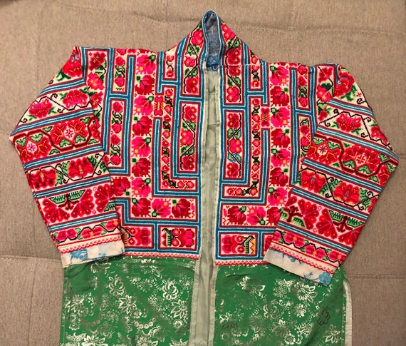 Hmong Chinese Shirt Jacket - image 1