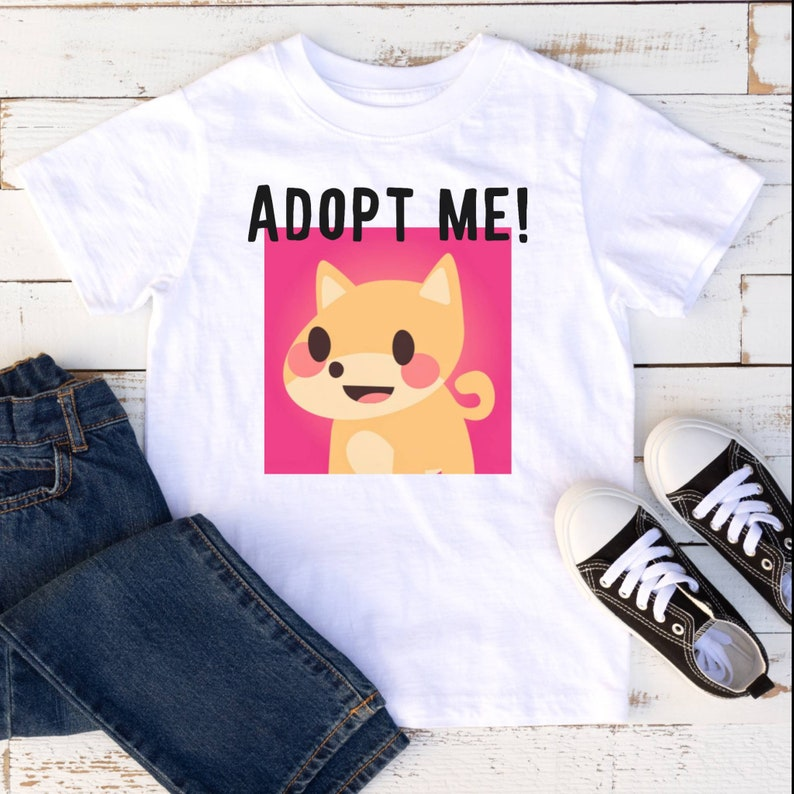 Adopt Me for kids Roblox for girls Adopt Me game Roblox Birthday Roblox gifts Birthday Roblox Adopt me  shirt Roblox shirt Adopt me