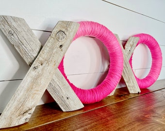 Valentine's Decor - XOXO Wood Piece