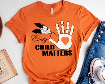 Orange Day Shirt,Every Child Matters T-Shirt,Awareness for Indigenous,Orange Day Gift,Indigenous Education,Kindness and Equality,September