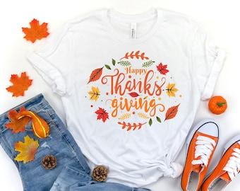 Happy Thanksgiving Shirt,Thanksgiving Vacation Shirt, Family Thanksgiving Shirt, Thanksgiving Food Shirt, Thanksgiving Dinner Shirt