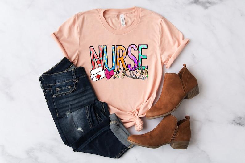 Gearhuman –  School Nurse Shirt Nurse Shirt Nurse Gift Funny Nurse – 3D Tshirt – TH-0075