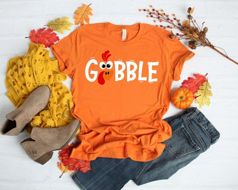 Gobble Gobble Thanksgiving Shirt Masswerks Store