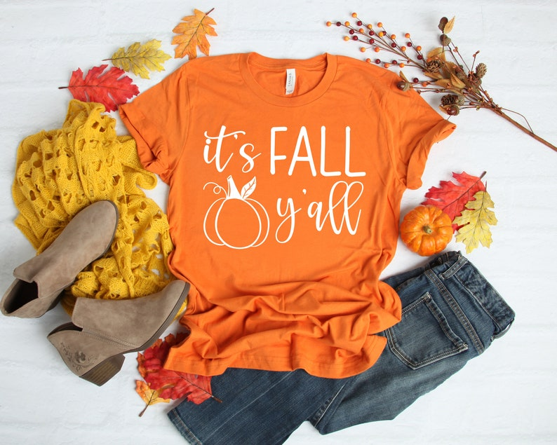 It Is Fall Y'All Thanksgiving Shirt Masswerks Store
