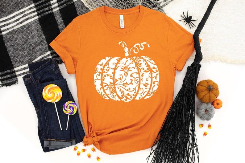 Orange Pumpkin Shirt Masswerks Store
