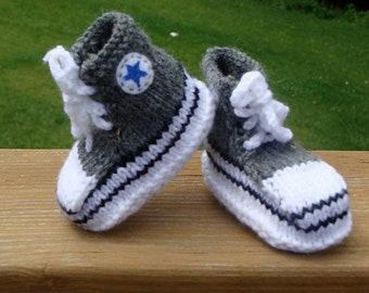 converse booties baby