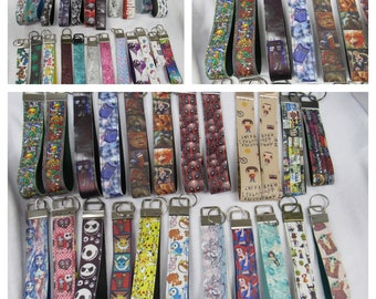 Pick a Keyfob -Free Shipping- Faux Leather- Ready to ship