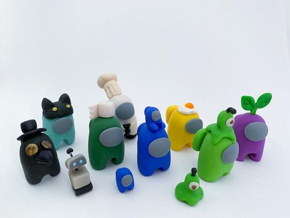 7pcs Mini Carino Gioco Figure Collezione Giocattoli Rimovibili Bambole Ornamenti Regalo Di Compleanno Per Bambini SFNTION Among Us Merch Figurine