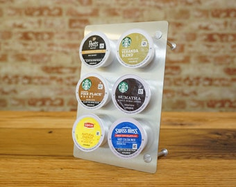 """K Cup Coffee Holder """"Pick-A-Cup"""" 6 cup pods"""