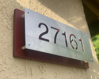 House Number Plaque, Plate - Home number plate