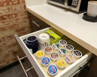 """K Cup Coffee Holder """"Pick-A-Cup"""" 12 cup pods - Anti-bacterial and Anti-COVID Material"""
