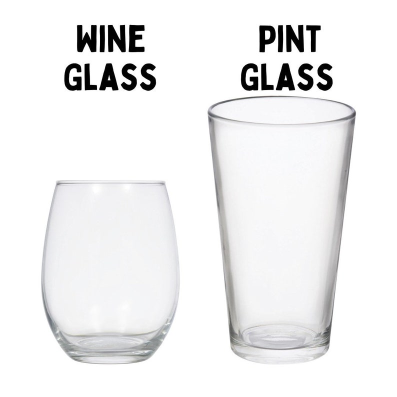 Let Me Drink About It Wine Glass