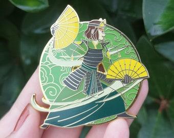 "Suki | 2.5"" Hard Enamel Pin | Avatar the Last Airbender"