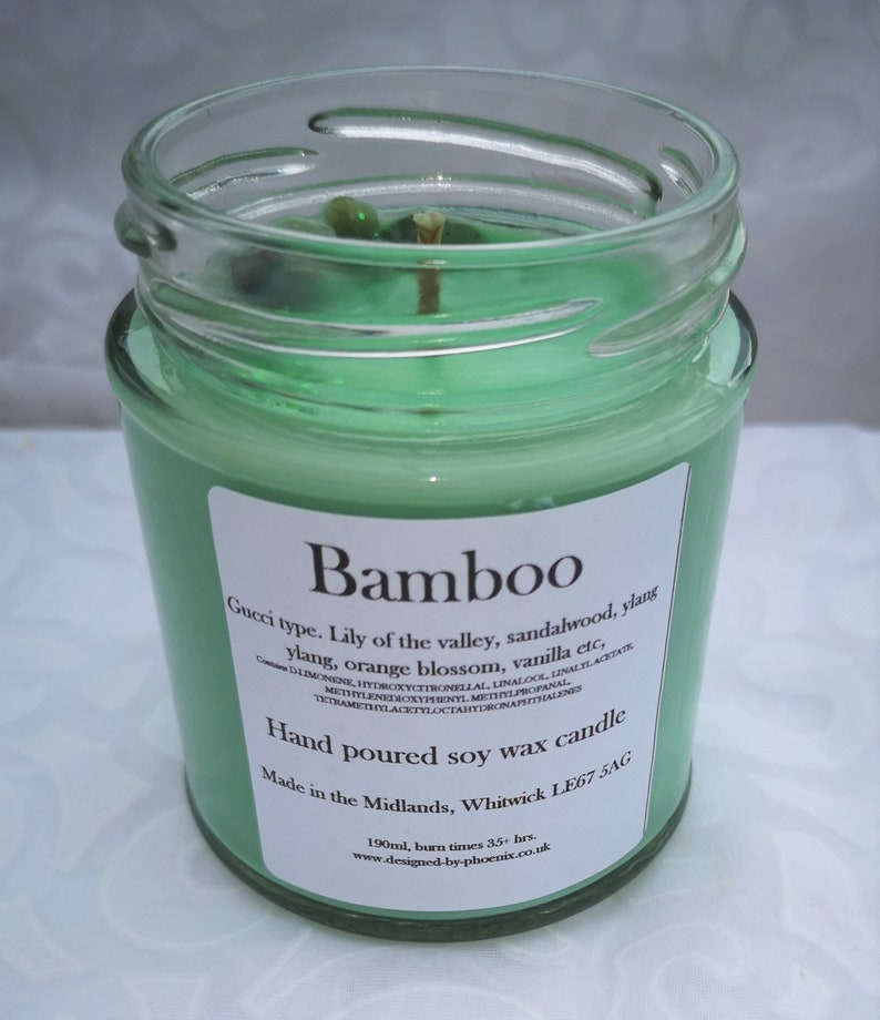 Scented soy wax candle 190ml. Money Spell