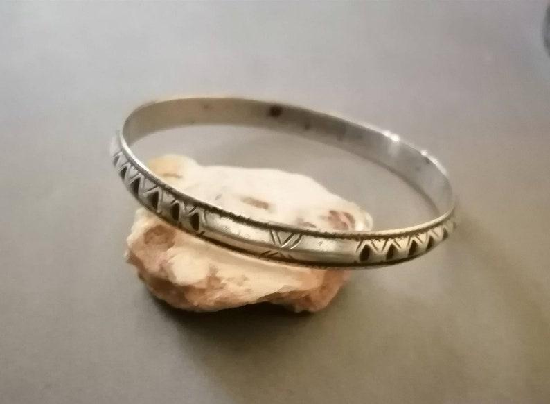 antique rush bracelet Moroccan jewelry solid silver. Berber bracelet antique bracelet vintage Berber jewelry antique Berber bracelet