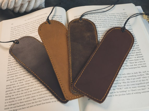Personalized Leather Bookmark Custom Bookmark Bookmark Book