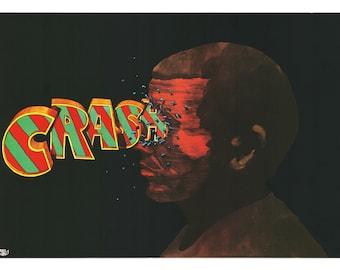 CRASH Original Polish Poster '77 Sawka artwork!