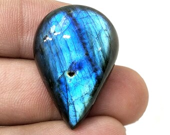 Loose Gemstone For Making jewelry Gift For April Fool/'s Cabochon Shape- Fancy Labradorite Gemstone