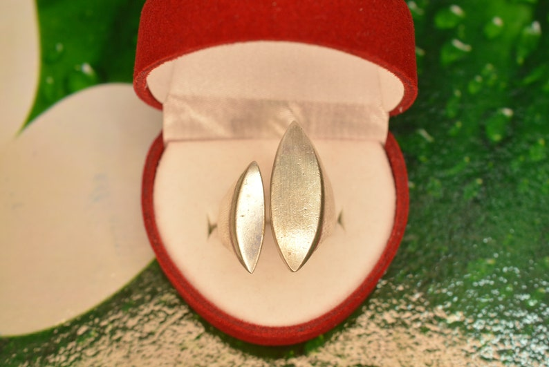 Vintage Large Open Sterling Silver Ring  Silver Ring for Women