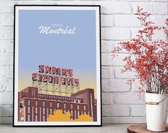Montreal poster - Five Roses
