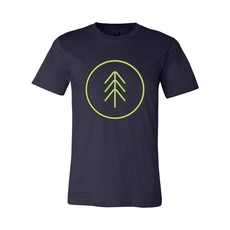 Simple Tree Unisex Jersey T