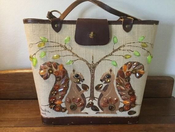 Enid Collins NutcrackerSweet vintage handbag