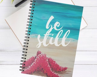 Starfish A5 spiral notebook / journal | Back to school supplies