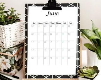 Undated Printable Calendar Bundle