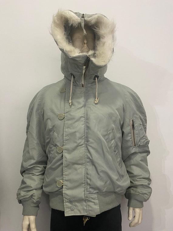Furr Hoodie Flight Jacket