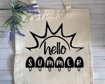 Beach bag AOP Tote Bag Summer vibes Hello summer