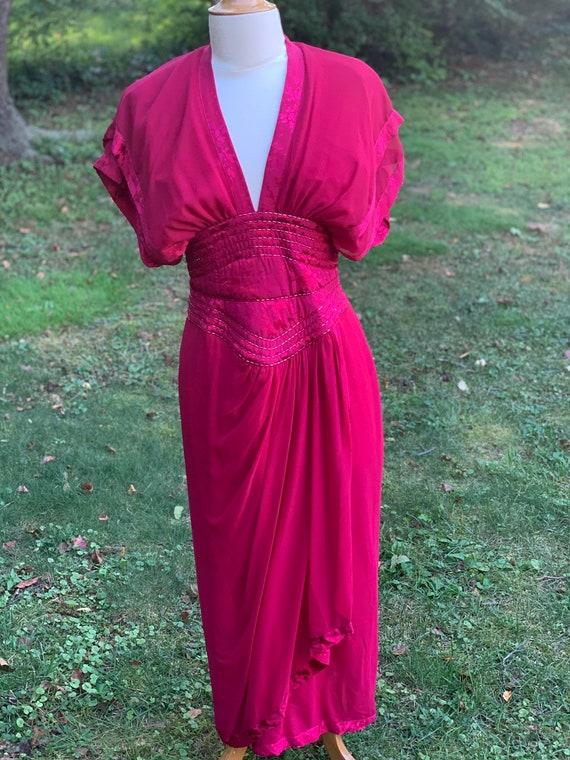 Vintage Wayne Clark by Aline Marelle Dress