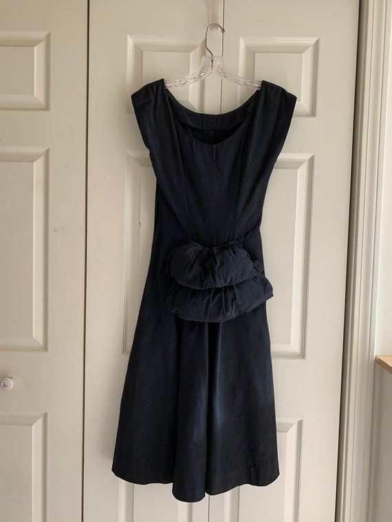 Vintage Grosgrain Cocktail Dress - image 2